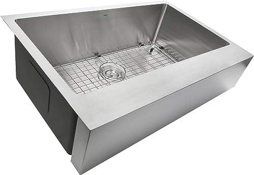Pro Series 32.5 x 21.25 Retro-fit Framhouse Undermount Kitchen Sink
