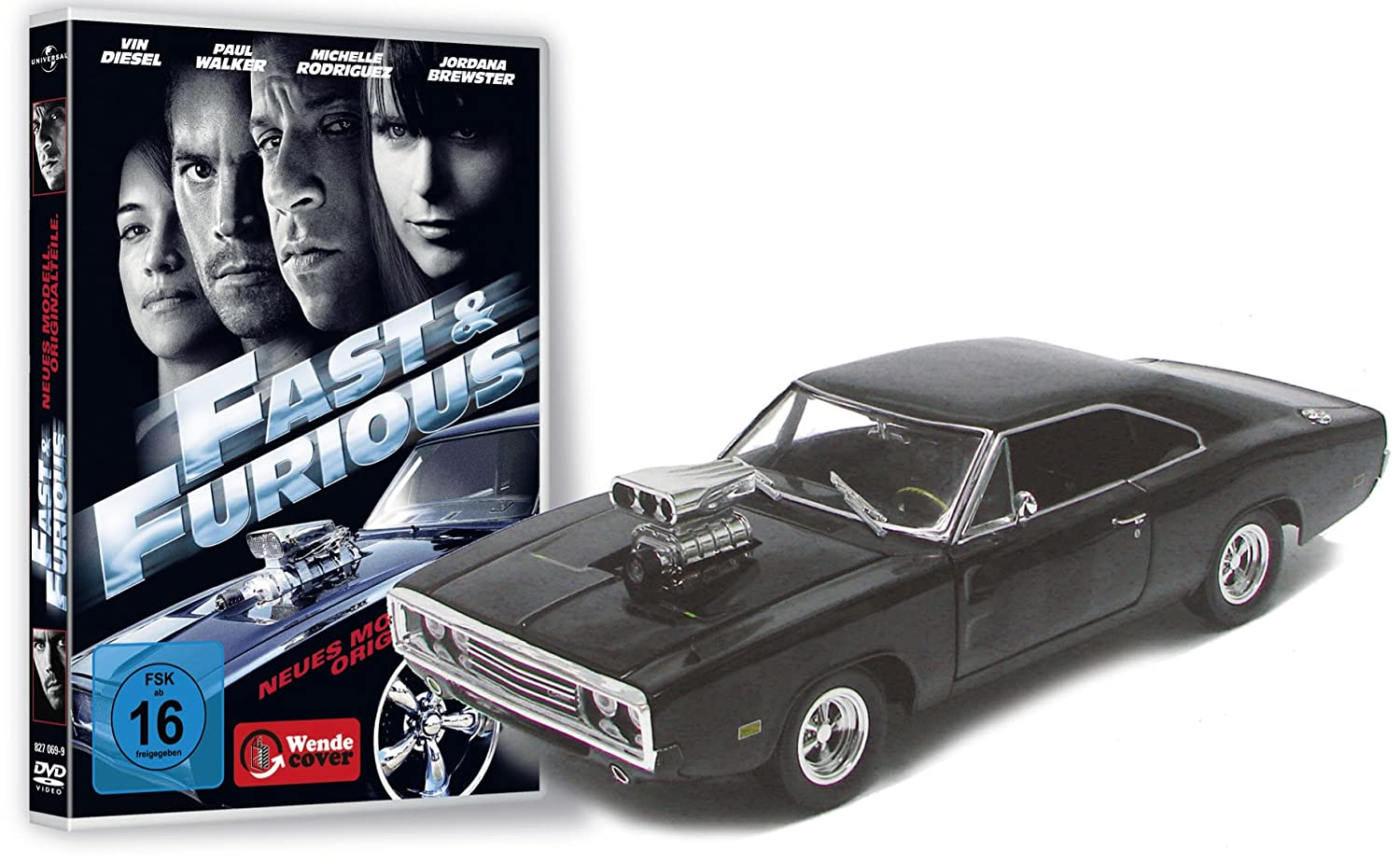 Fast and Furious 4Limited Collectors Edition [Import allemand] B002NZJMRM