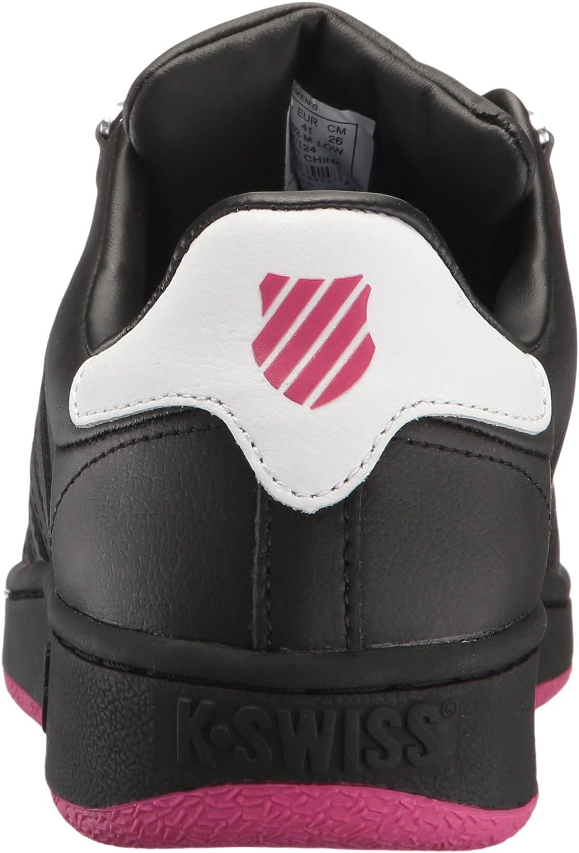 K-Swiss Women's Classic Vn Sneaker Black/Beetroot Purple/White