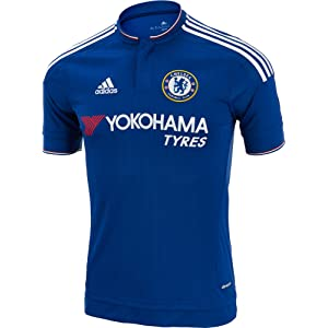 3ce7998e6 Amazon.com : adidas Chelsea Home Jersey 2016/2017 - XS : Sports ...