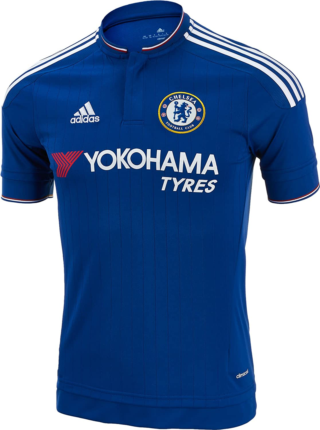 Amazon.com   adidas Chelsea FC Home Jersey-CHEBLU   Sports   Outdoors 3173dcc65