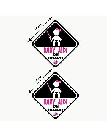 Personnalisé enfant//bébé à bord voiture signe ~ nanas princesses à bord ~ rose