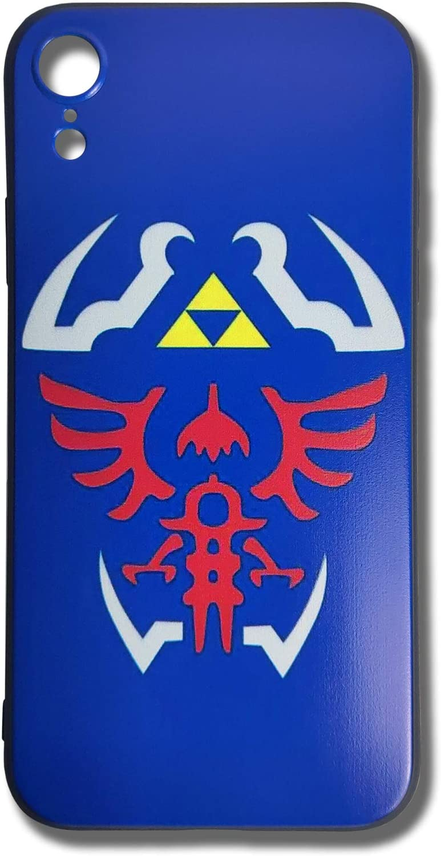 LLJIUJIU The Legend of Zelda Hylian Shield Phone Case for iPhone XR