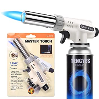 TENGYES Culinary Kitchen Butane Blow Kitchen Torch