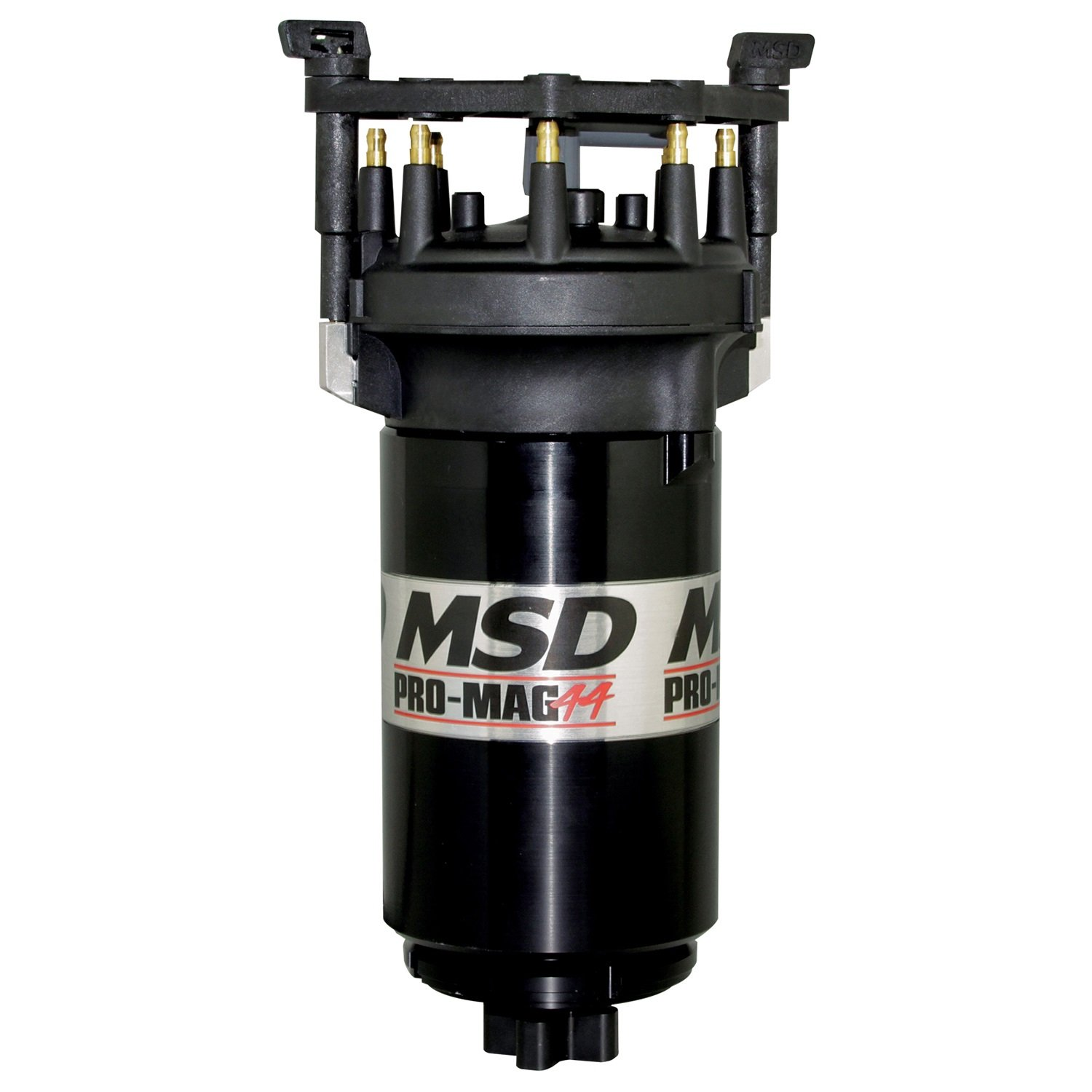 MSD IGNITION 81407 Black Pro Mag Counter Clockwise (w/Big Cap) by MSD Ignition