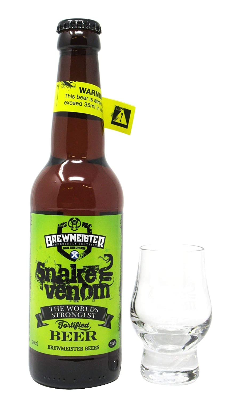 Brewmeister - Snake Venom World's Strongest Beer & FREE Branded