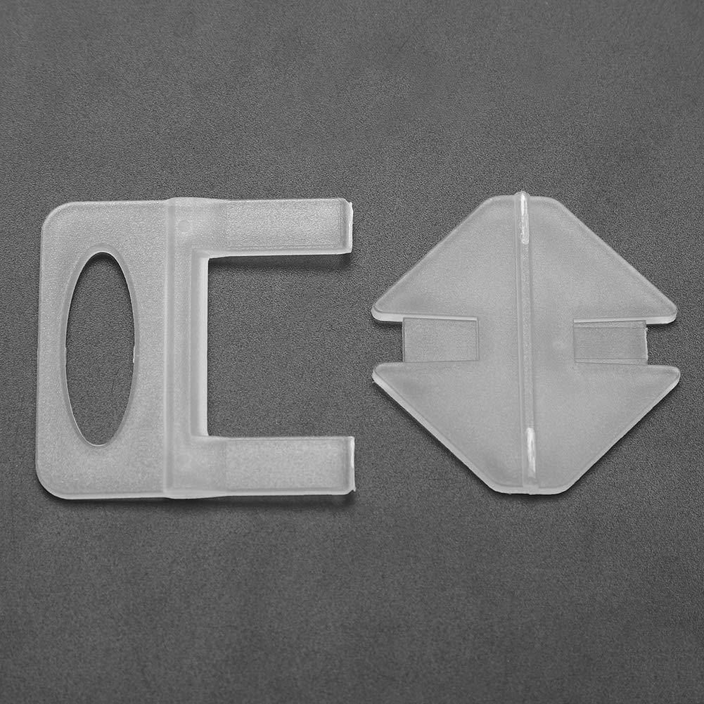 Distanza tra le piastrelle pi/ù ampia: 2,0 mm Piastrelle livellamento Distanziatori per Piastrelle Autolivellanti 400pcs Piastrelle Plastica Sistema di livellamento per Piastrelle