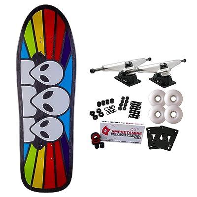 "Alien Workshop Skateboard Complete Spectrum Old School (Assorted Colors) 9.675"" : Sports & Outdoors"