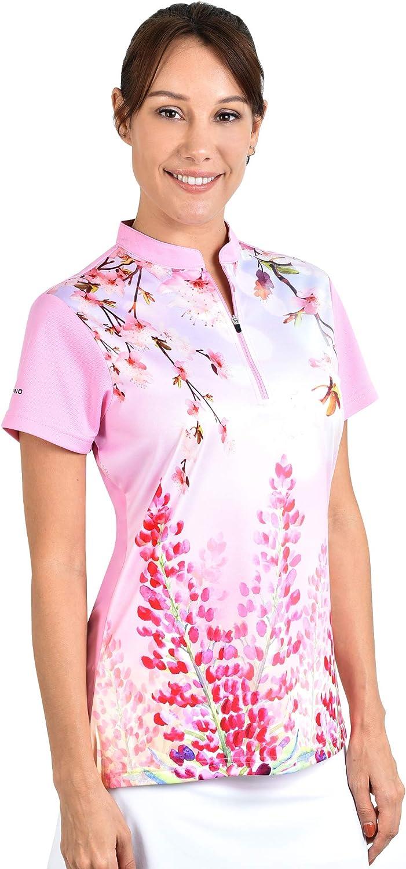 SAVALINO - Camisas de bolos para mujer, talla S a 4XL