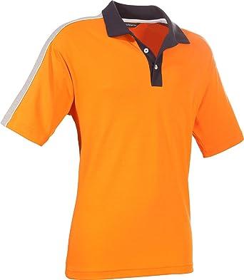 Schneider Poloshirt Single-Jersey orange Größe 52