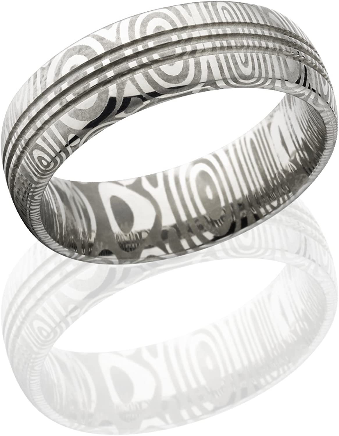 The Jewelry Source Mens Wedding Bands Damascus Steel Rings For Men Damascus Rings USA Made Fast Delivery
