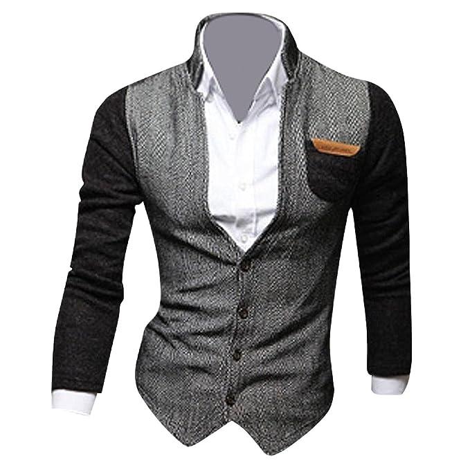 Jeansian Moda Chaqueta Abrigos Blusas Chaqueta Hombres Mens Fashion Jacket Outerwear Tops 9046: Amazon.es: Ropa y accesorios