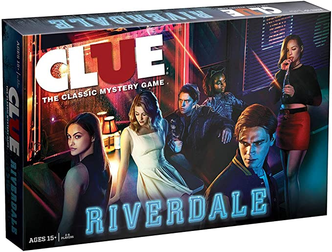 NEW  Hasbro USAopoly Monopoly CW Riverdale TV Edition Board Game 6 Unique Tokens