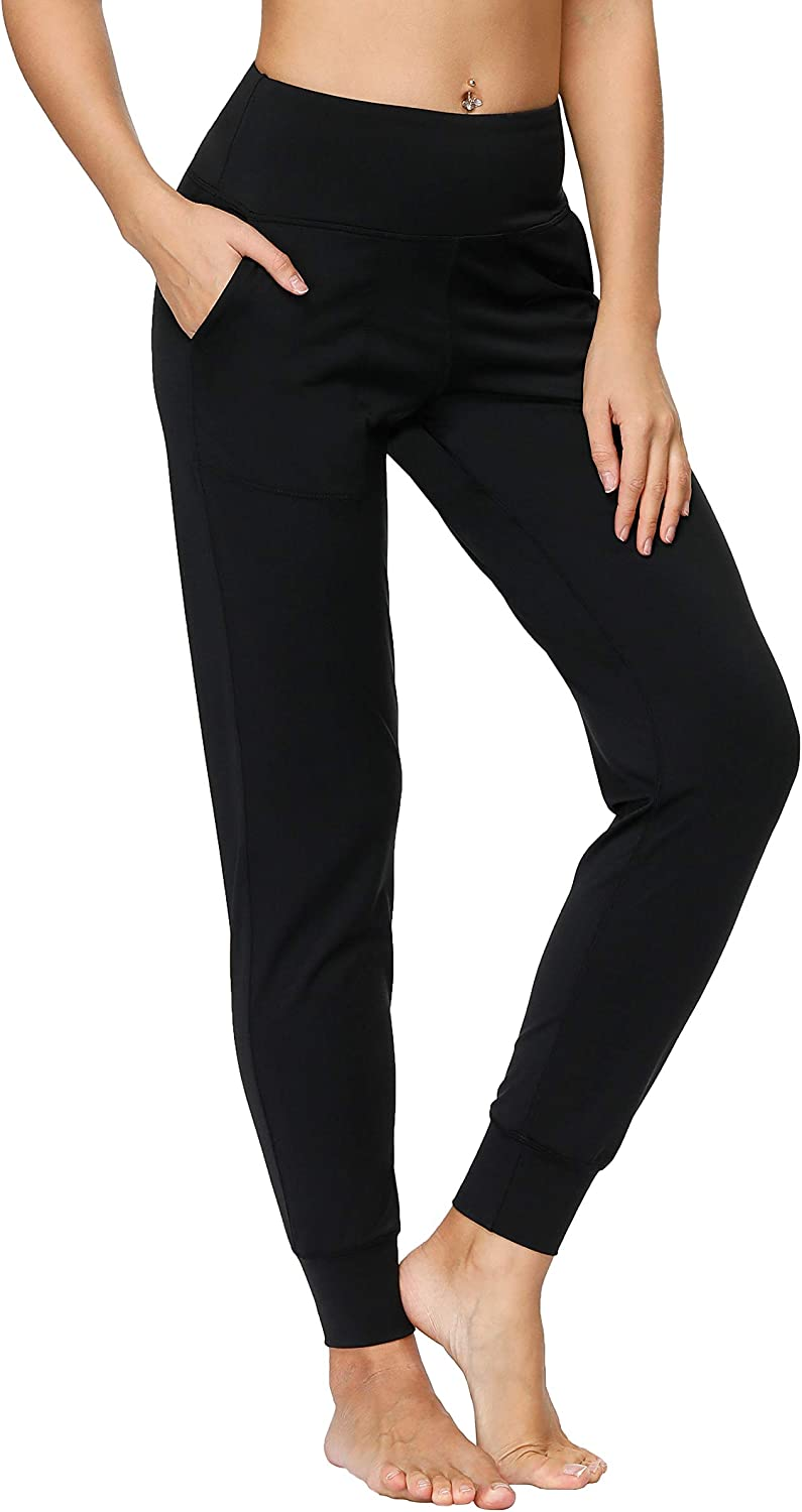 Tsuretobe Women's Joggers Pants with Pockets