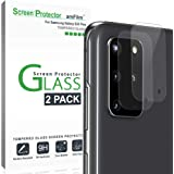 amFilm Galaxy S20 Plus Back Camera Protector (2 Pack), Tempered Glass Film Screen Protector for Rear Camera Lens of…