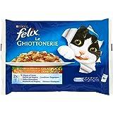 Felix le Ghiottonerie con verdure Manzo&Carote e Pollo&Pomodori - 4x100 g