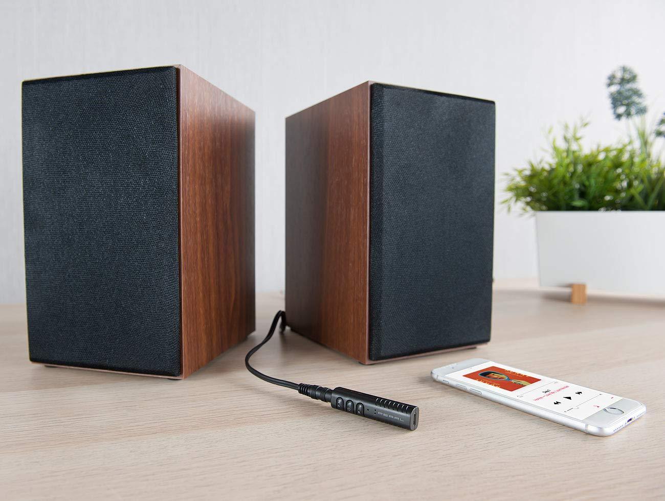 Adaptateur audio jack /à fonctions bluetooth et mains libres BTA-40 Auvisio