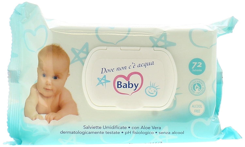 Dove Non C'E' Acqua Salviette Pz.72 Unilever