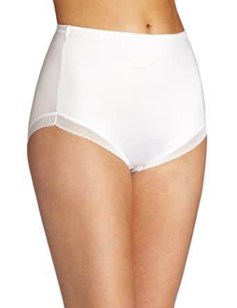 newest premium selection numerous in variety Flexees by Maidenform Women's No Slip Edge Brief - White ...