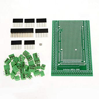 WINGONEER Prototype Screw//Terminal Block Shield Board Kit for Arduino MEGA 2560 R3 DIY