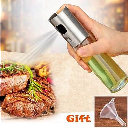 Botella de aceite de oliva de acero inoxidable para pasta ...