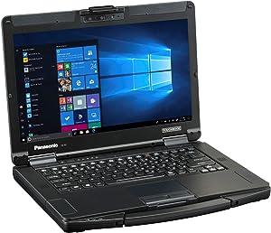 "Panasonic Toughbook FZ-55, Intel Core i7-8665U @1.9GHZ, 14.0"" HD LCD, Windows 10 Pro, Backlit Emissive Keyboard, 8GB, 512GB M.2 SSD, Infrared Hello Webcam"