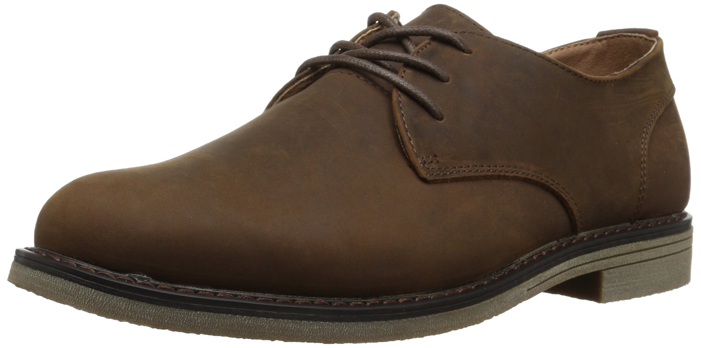 Nunn Bush Men's Linwood Plain Toe Oxford, Brown, 9 M US