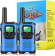 Walkie Talkies for Kids, 22 Channel 2 Way Radio 3 Mile Long Range Kids Toys & Handheld Kids Walkie Talkies, Best Gifts & Top