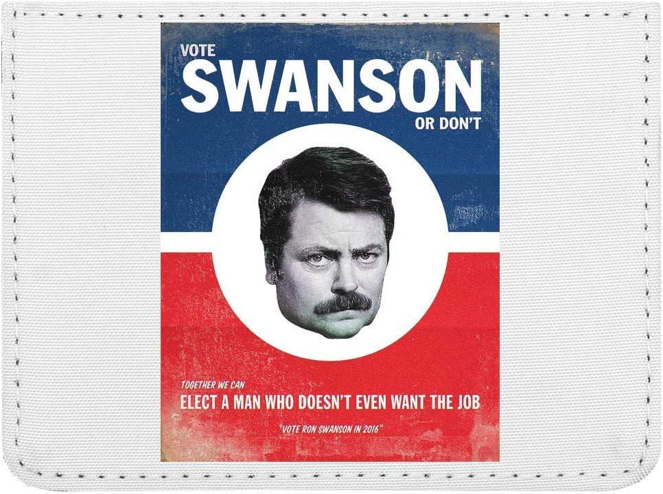 Vote Ron Swanson Poster Estuche para Tarjetas de crédito ...