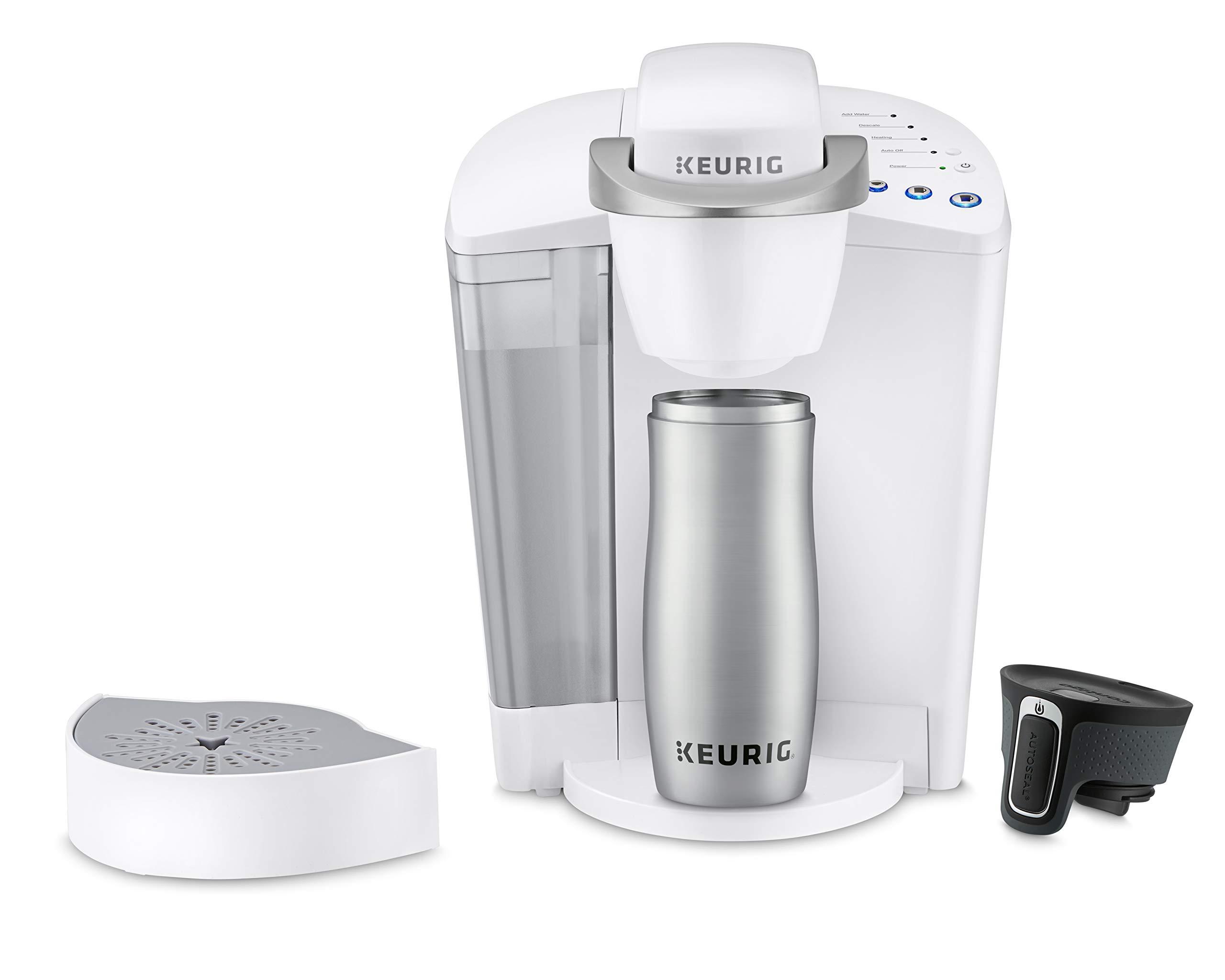 Keurig K-Classic Coffee Maker, K-Cup Pod, Single Serve, Programmable, White by Keurig (Image #4)