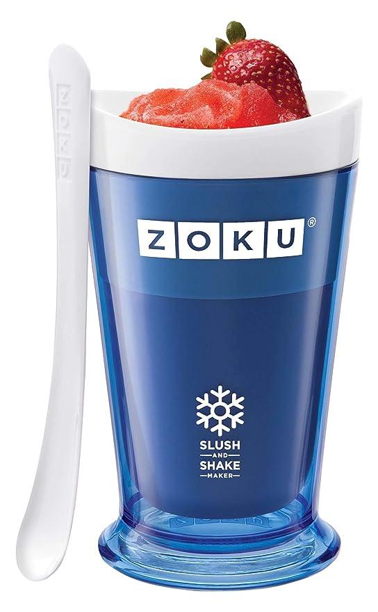 Zoku Slush & Shake Maker Máquina de helados y batidos Azul - Heladora (Máquina de helados y batidos, 1 senos, 8 h, Azul, 101,6 mm, 101,6 mm): Amazon.es: ...