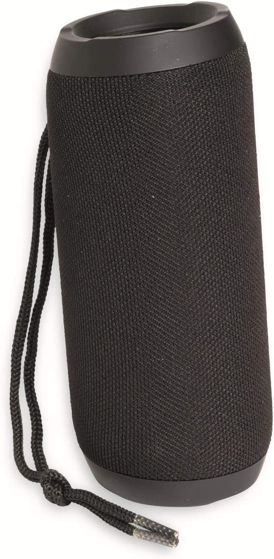 Denver BTS-110 Black- Altavoz Portátil. Sintonizador de Radio FM. Conexión Bluetooth y USB. Entrada AUX y Ranura para Tarjeta SD. Batería Recargable 1200mAh. Volumen: 10W. Negro