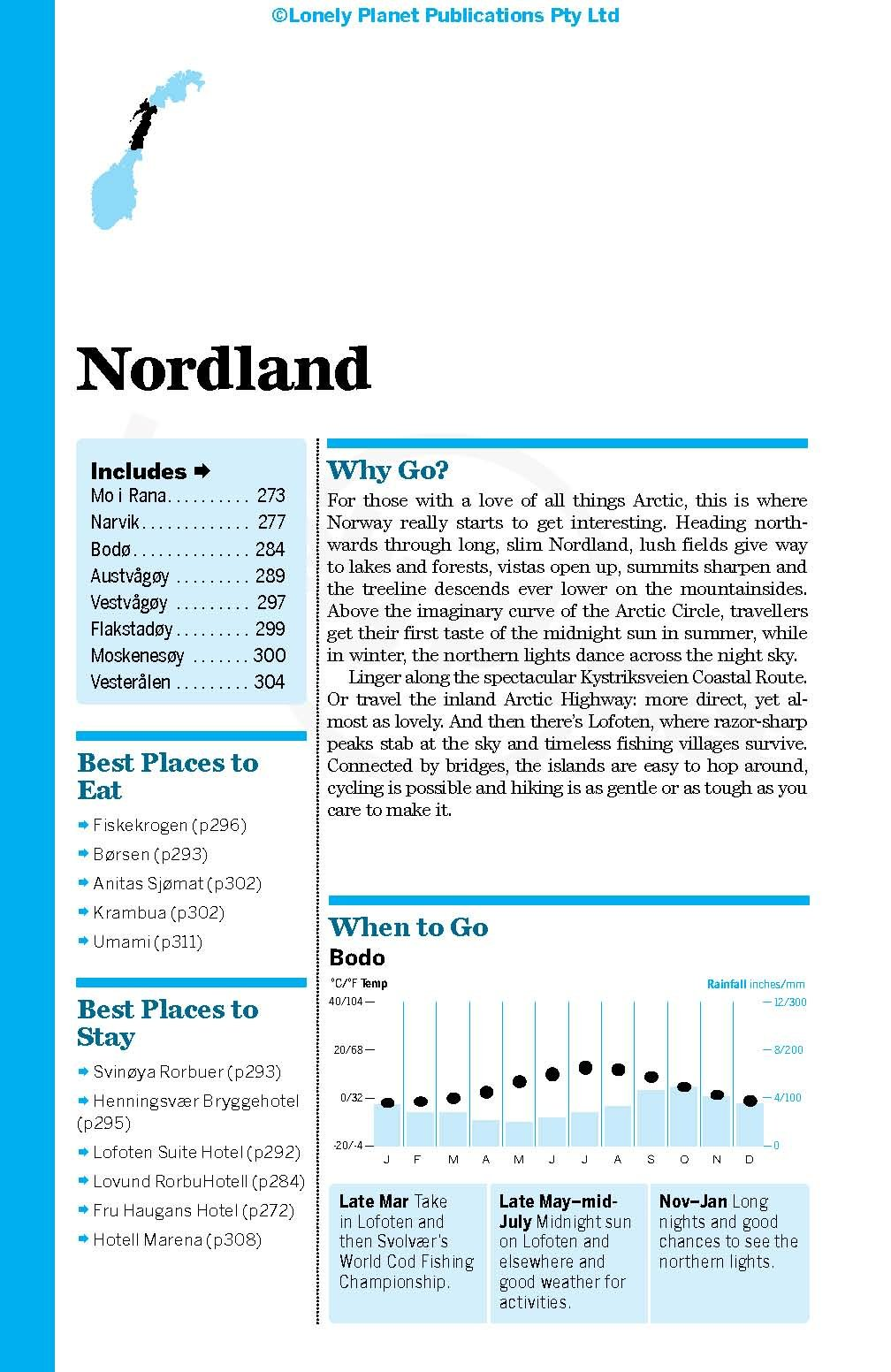 Lonely Planet Norway (Travel Guide): Lonely Planet, Anthony Ham ...