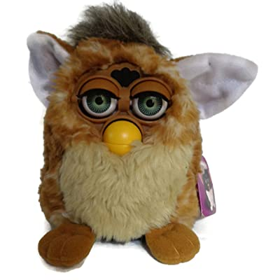Furby - Black with White Tummy and Green Eyes - Model 70-800: Toys & Games