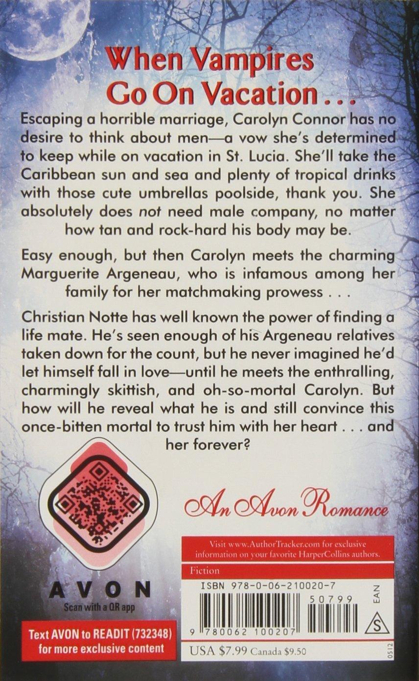 Amazon: Under A Vampire Moon: An Argeneau Novel (argeneau Vampire)  (9780062100207): Lynsay Sands: Books