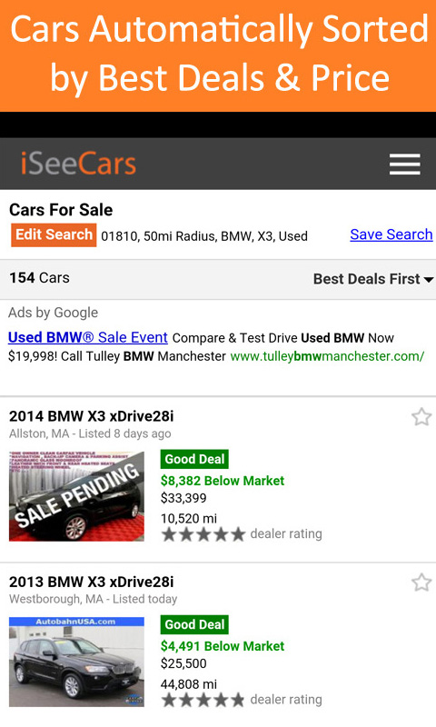 Used Car Search Pro Iseecars