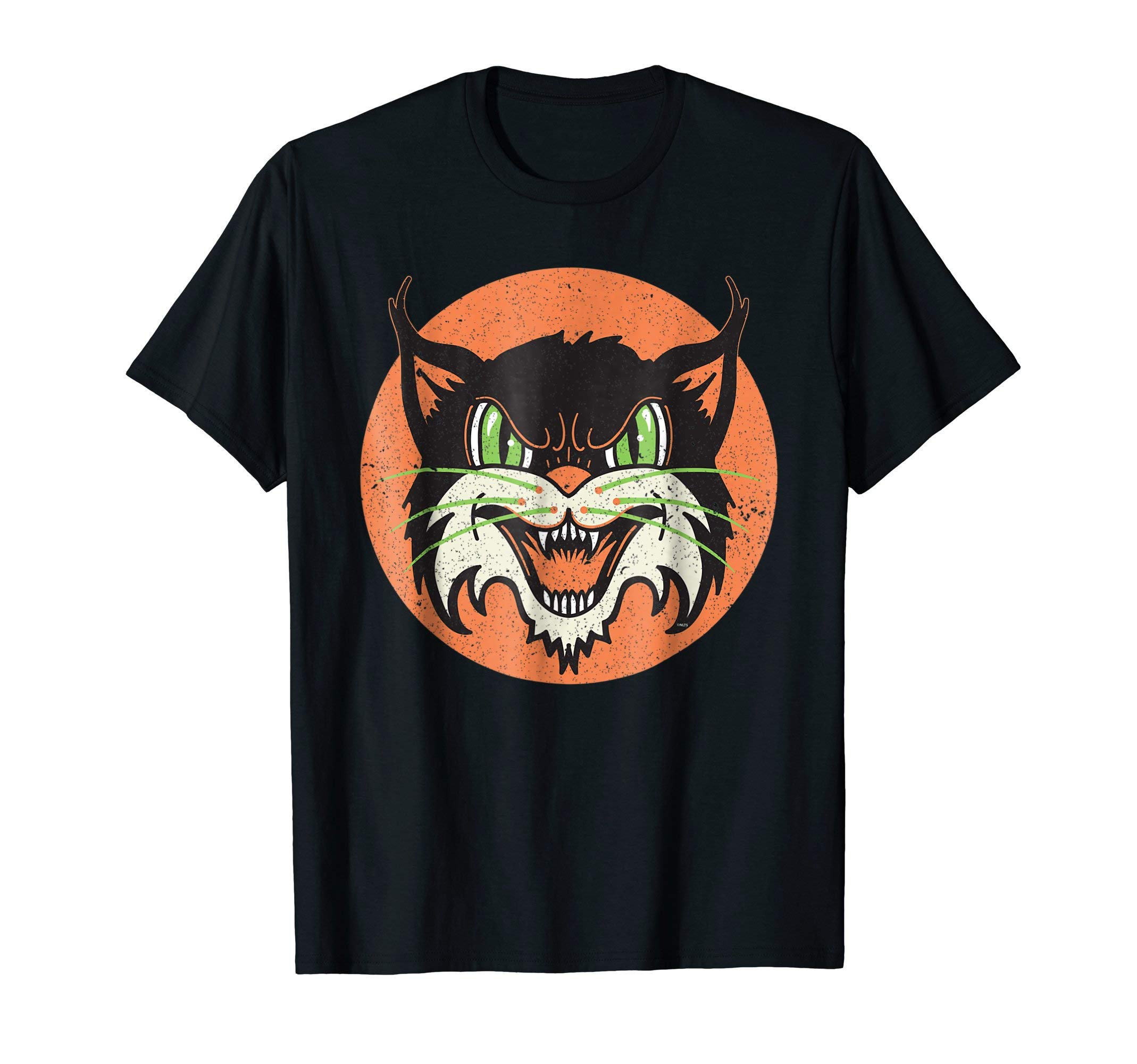 Angry-Cat-Face-Old-School-Shirt-Gifts-T-Shirt-Tee