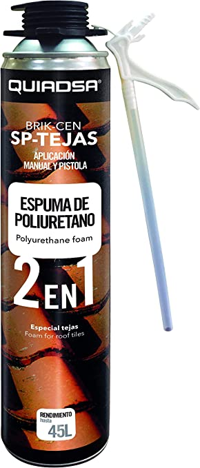 Quiadsa 53300061 Espuma de Poliuretano, 750 ml: Amazon.es ...