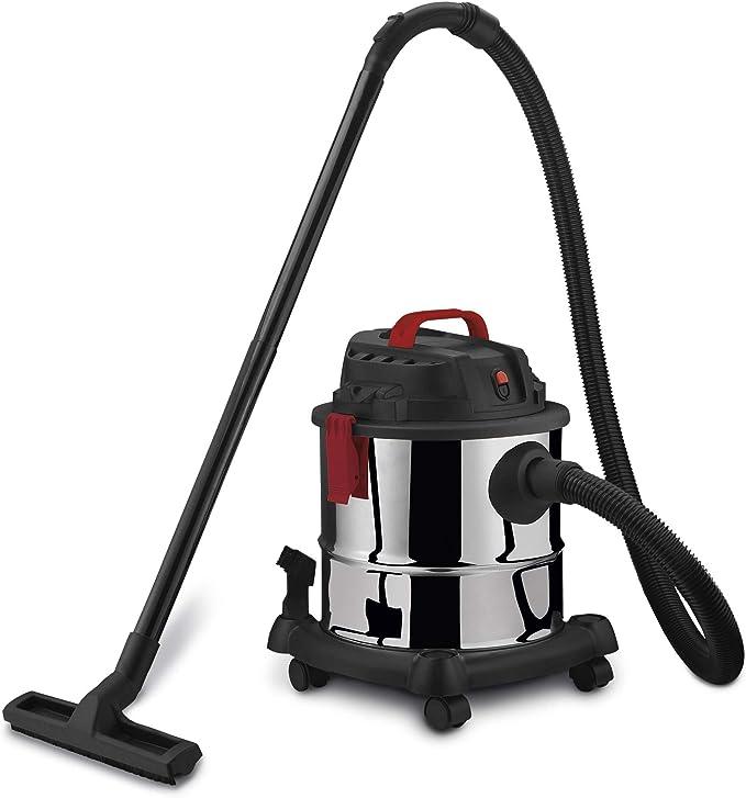 Aspirador industrial solidos y liquidos Worgrip 1400W 120L: Amazon ...