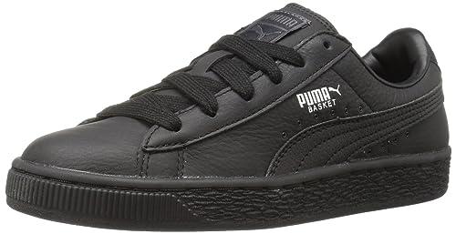 Classic Bts Jr Black Puma Sneaker Ni L Silver os Zapatillas Para t4wqff