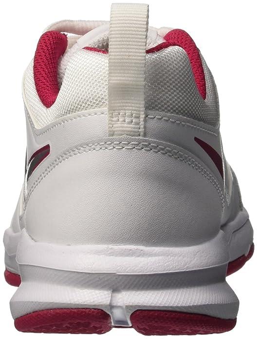 new products d6355 c3c30 Nike T-Lite XI, Zapatillas de Gimnasia para Mujer, Blanco Rosa, 42 EU:  Amazon.es: Zapatos y complementos