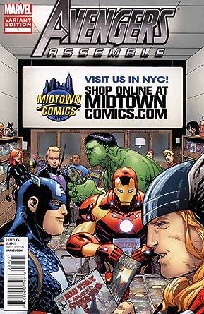 Amazon.com: Avengers Assemble (4th Series) #1E (4th) FN ...