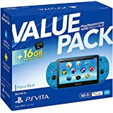 PlayStation Vita 16GB バリューパック アクア・ブルー