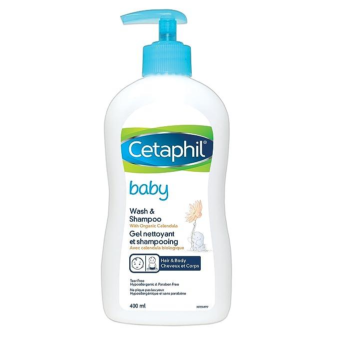 2a5532c56 Cetaphil Baby Wash & Shampoo 400 mL: Amazon.ca: Beauty