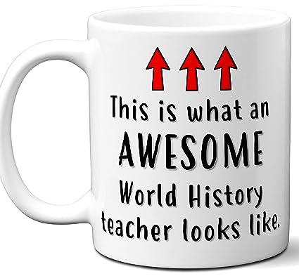Amazon com: World History Teacher Gifts  Funny School Coffee
