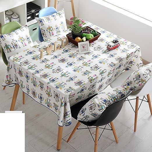 Simple y con estilo de alta calidad tela de mesa/ El fluido ...