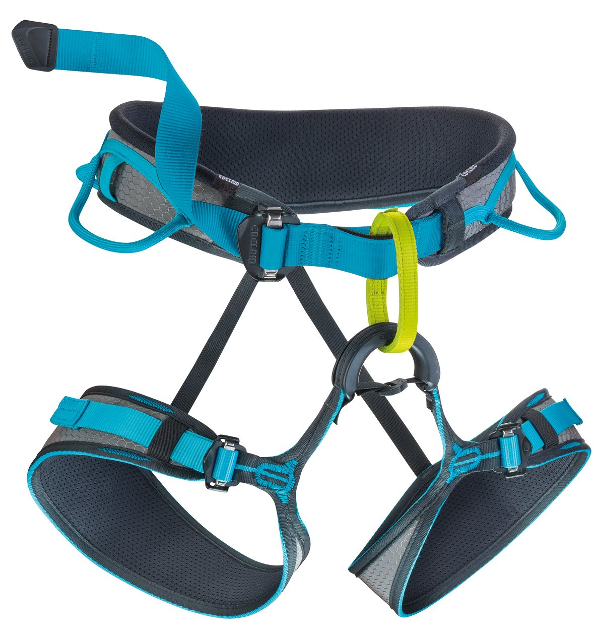EDELRID Jay Climbing Harness - Men's Slate/Icemint Small by EDELRID
