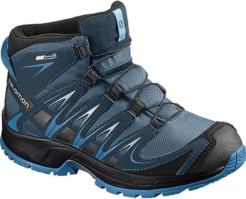 SALOMON XA Pro 3D Mid CSWP K, Chaussures de Randonnée Hautes