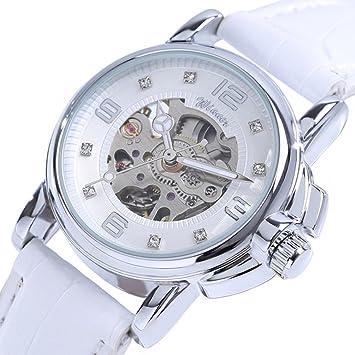 Relojes Hermosos, WINNER Mujer Reloj de Pulsera Reloj de Vestir Reloj de Moda Cuerda Automática