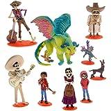 Disney Coco Deluxe- 9 Piece Figure Playset